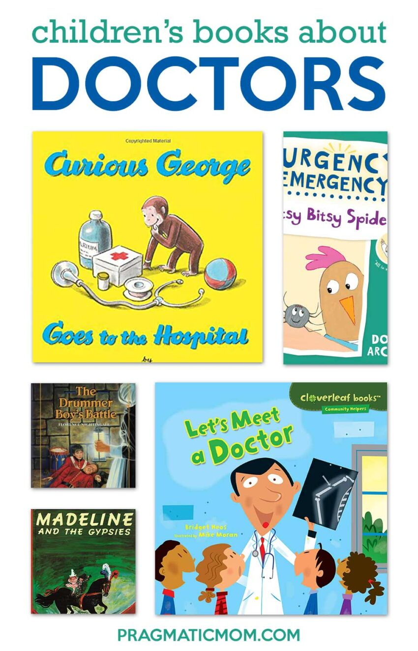 Children's Books about Doctors, Nurses and Hospitals