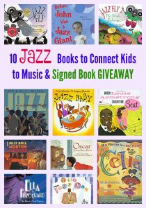 10 Jazz Books to Connect Kids to Music & GIVEAWAY