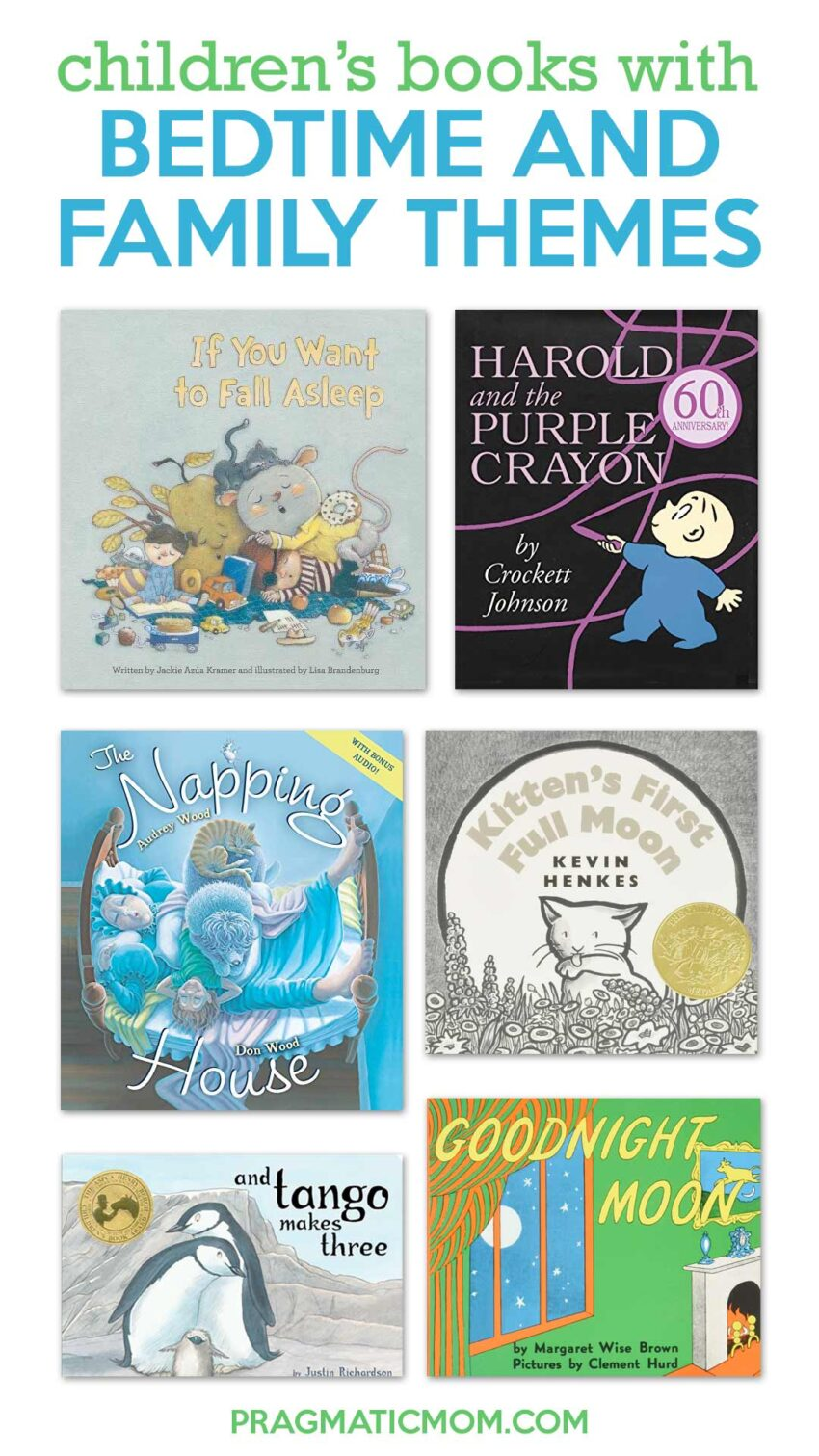 Books with Bedtime & Family Themes