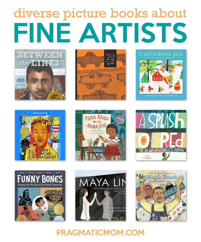 Diverse Picture Books on Fine Artists