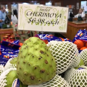 My Son's Exotic Fruit Challenge: Cherimoya