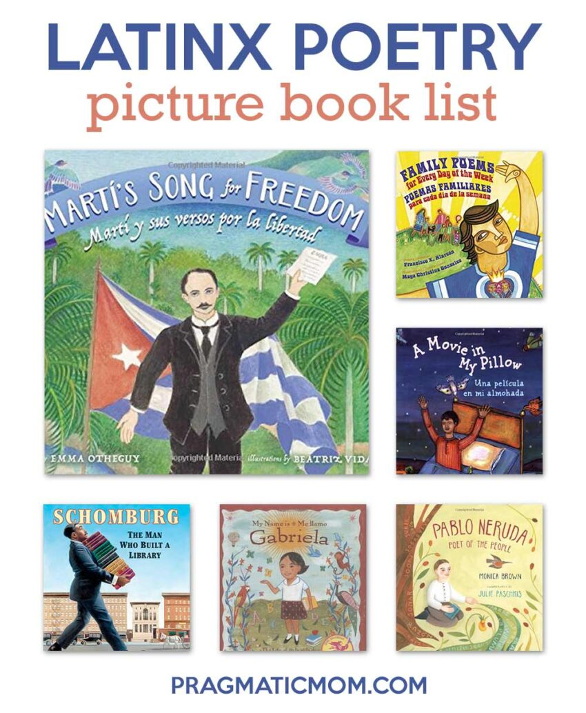 Latinx Poetry Picture Book List