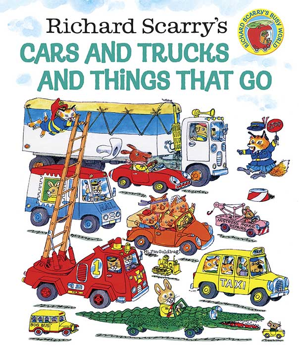 Richard Scary's Cars & Trucks From A to Z
