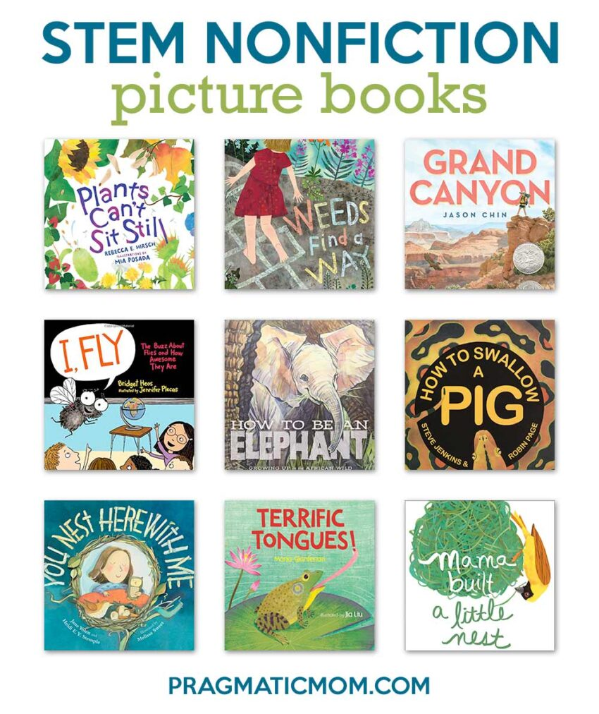 STEM Expository Nonfiction Picture Books