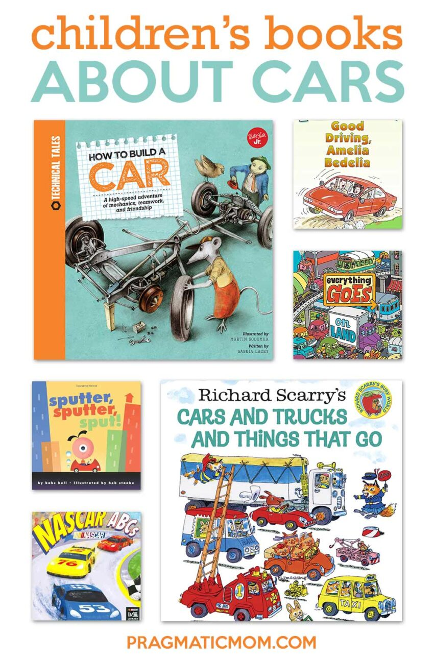 7 Children's Books That Teach Your Kids About Cars