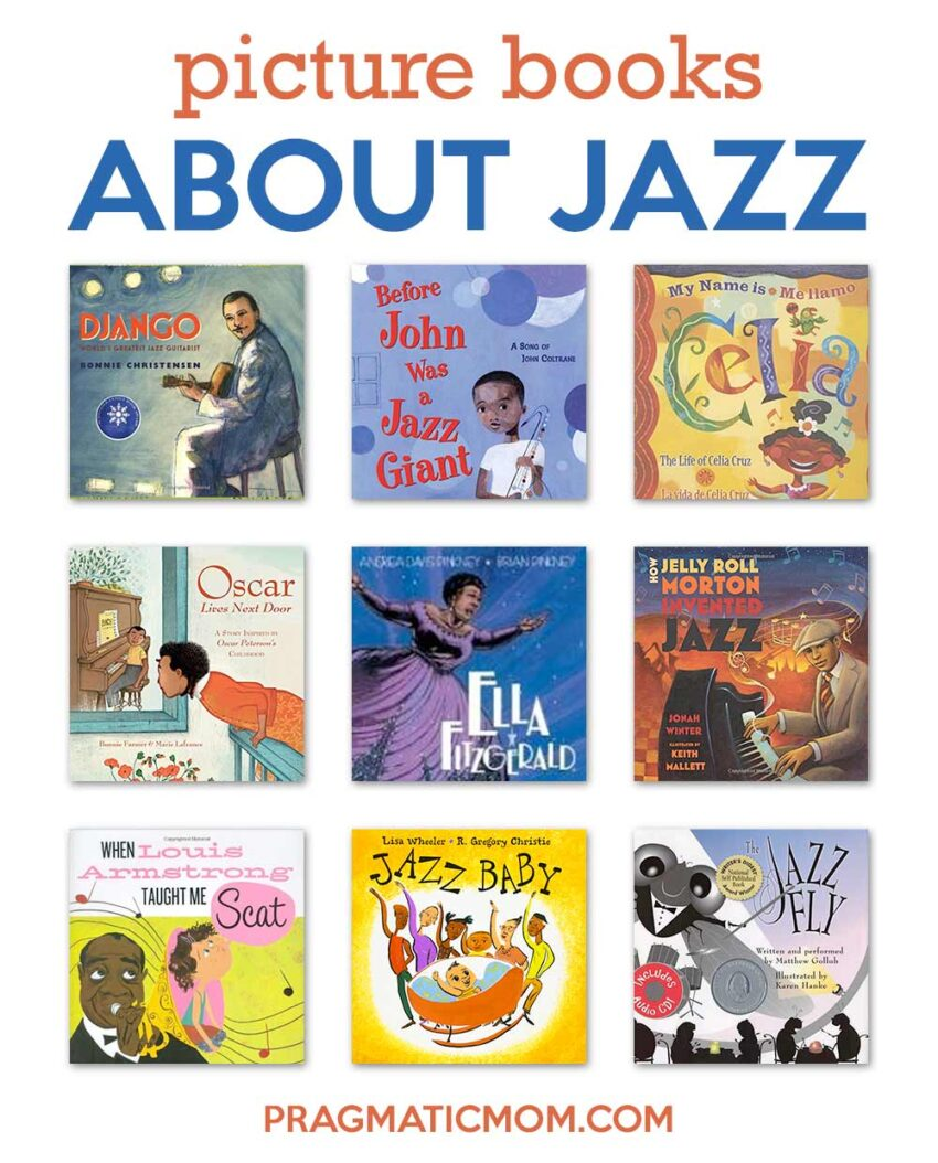 picture books about jazz