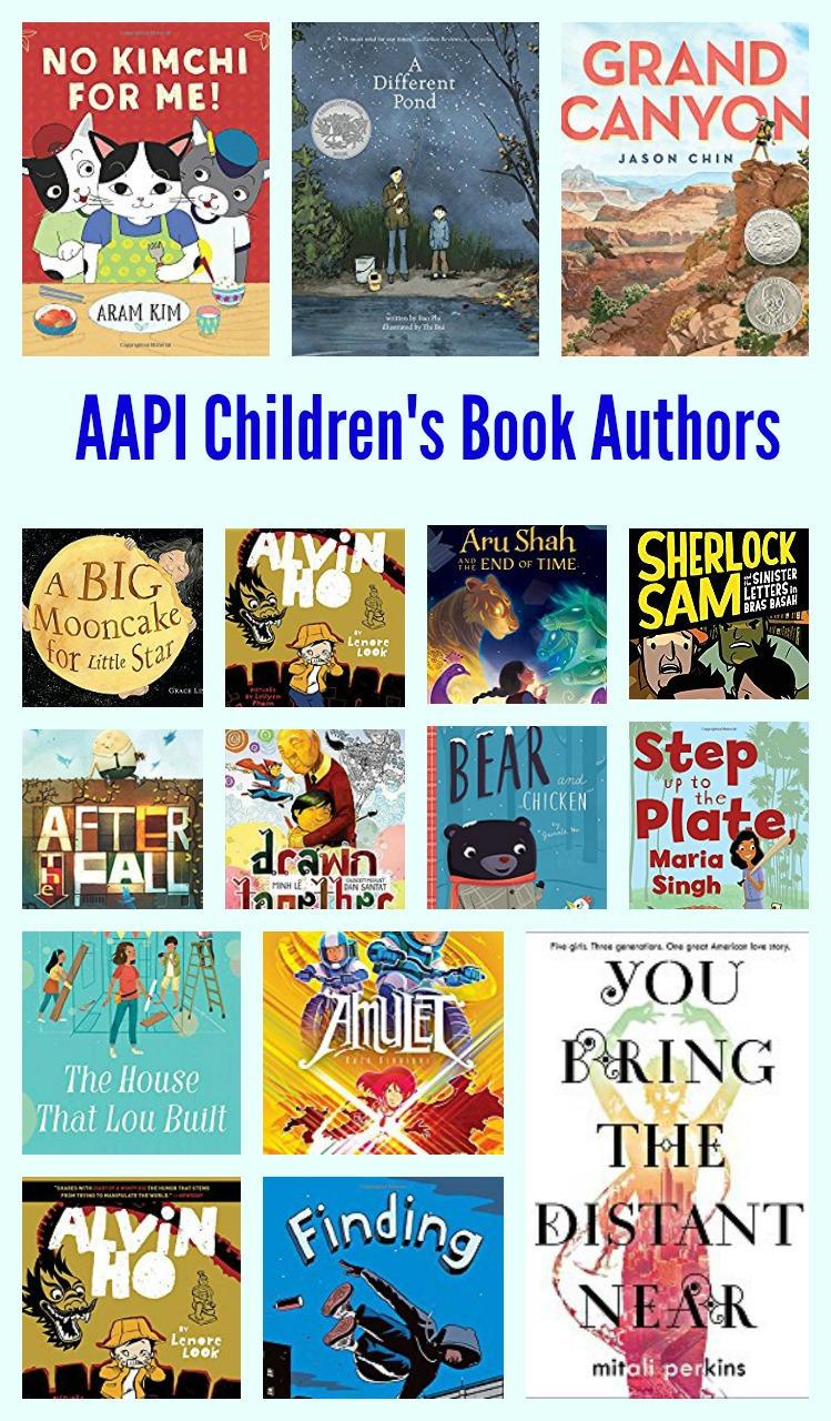 AAPI Children's Book Authors and Illustrators