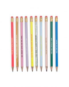 Compliment Pencil set for Ask Emma giveaway