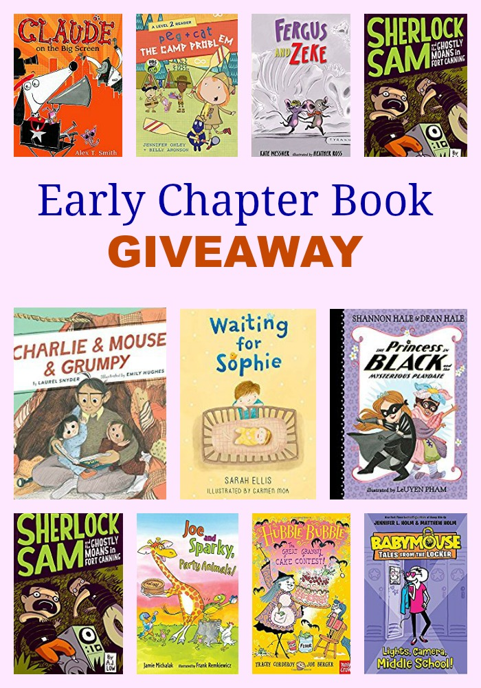 Early Chapter Book GIVEAWAY