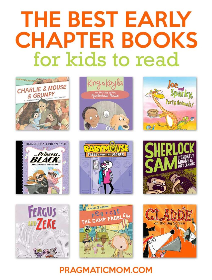 The Best Early Chapter Books for Kids to Read