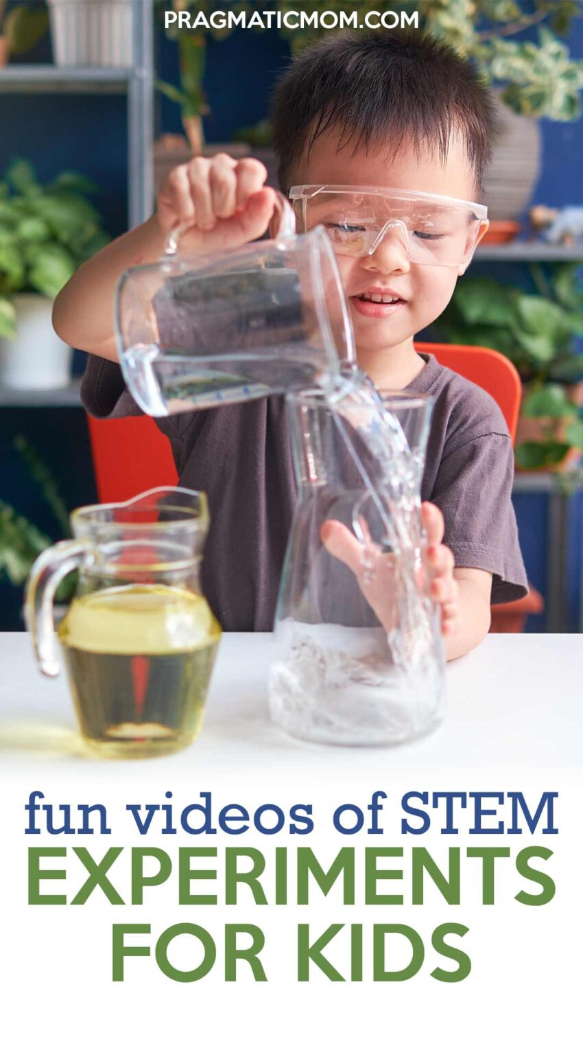 Really Fun Videos of STEM Experiments for Kids