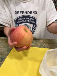 My 13 year old son's Exotic Fruit Challenge: Snow Apple from China