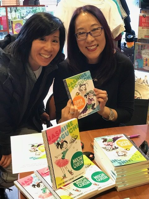Girls Day with Debbi Michiko Florence at Newtonville Books, Jasmine Toguchi