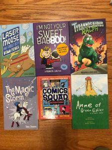 6 Graphic Novel Giveaway to 6 Winners