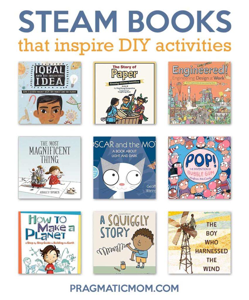 STEAM Books That Inspire DIY Activities