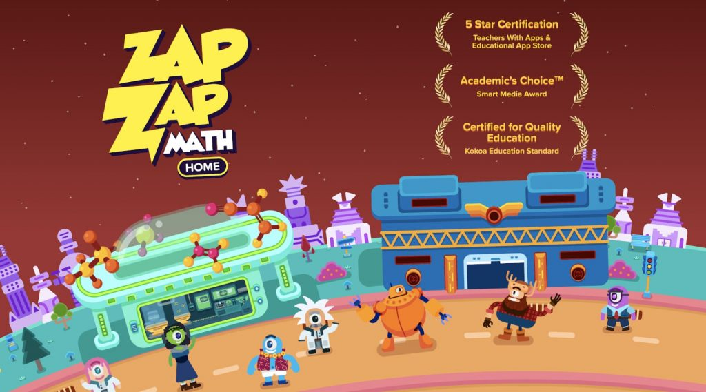 ZapZapMath Home Page