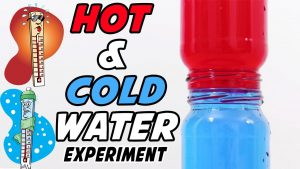 Hot and cold water experiment