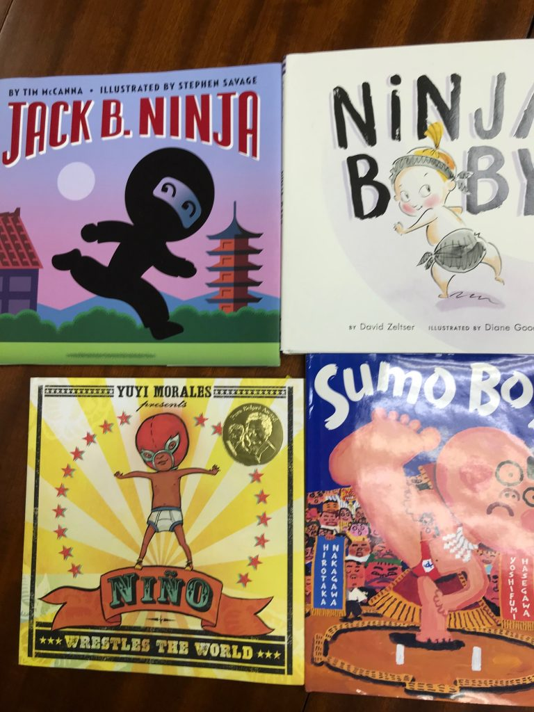mentor texts for illustrating SUMO JOE