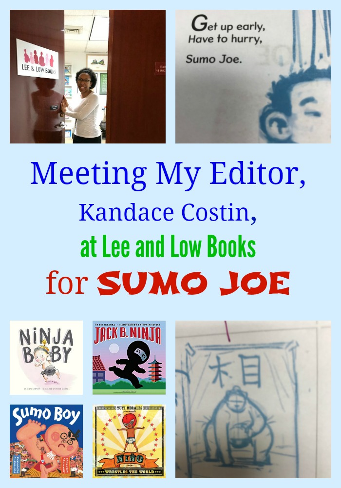 Meeting My Editor for SUMO JOE