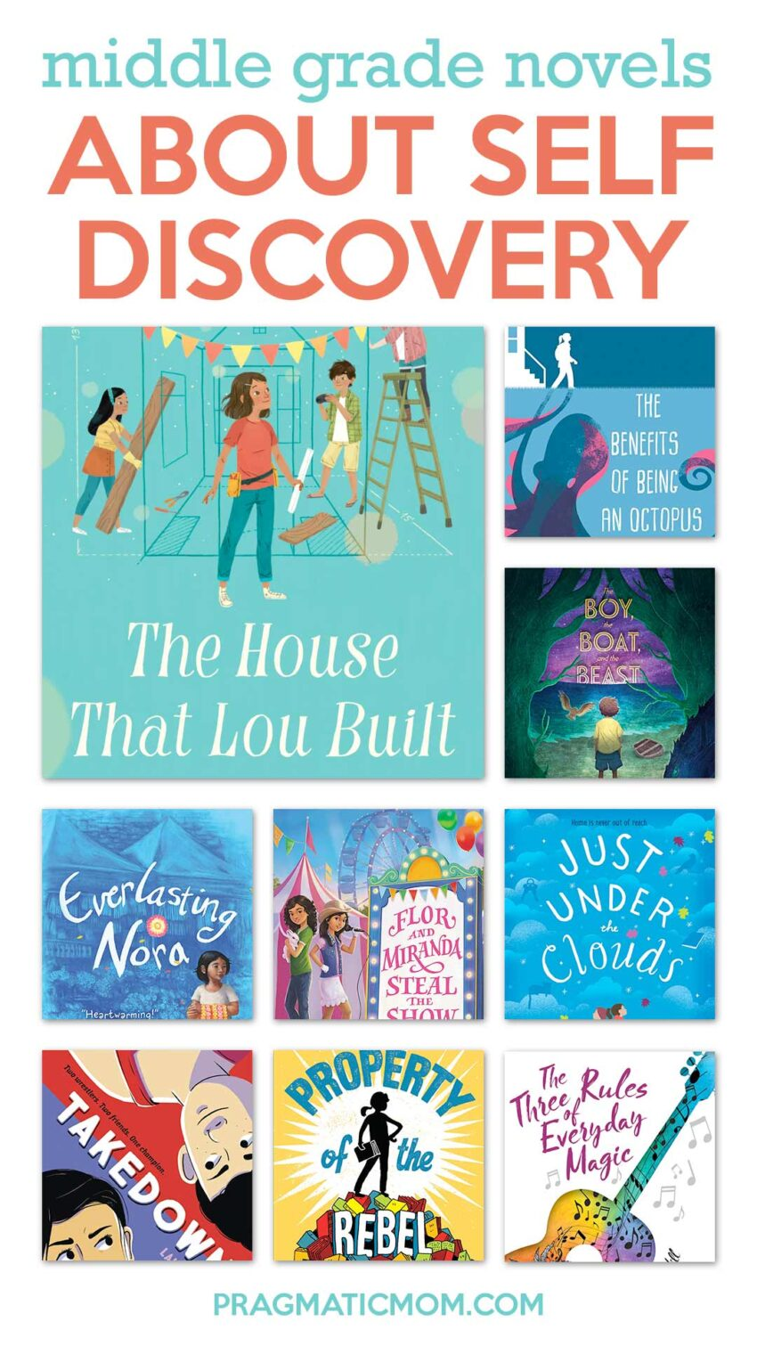 Middle Grade Novels of Self-Discovery