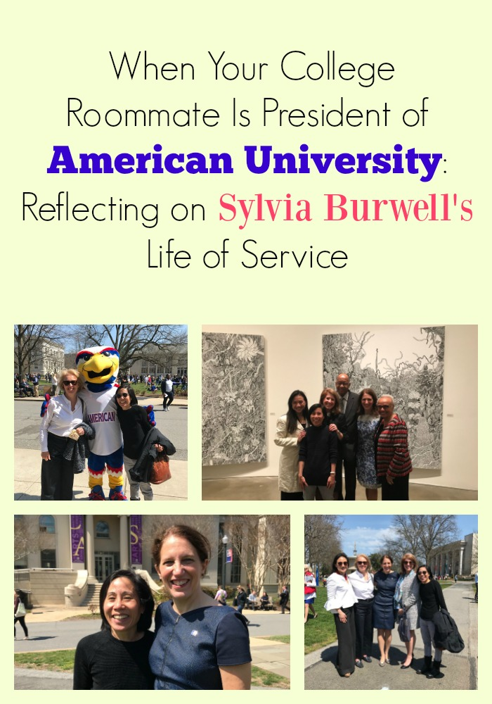 Sylvia Burwell: When Your College Roommate Is President of American University