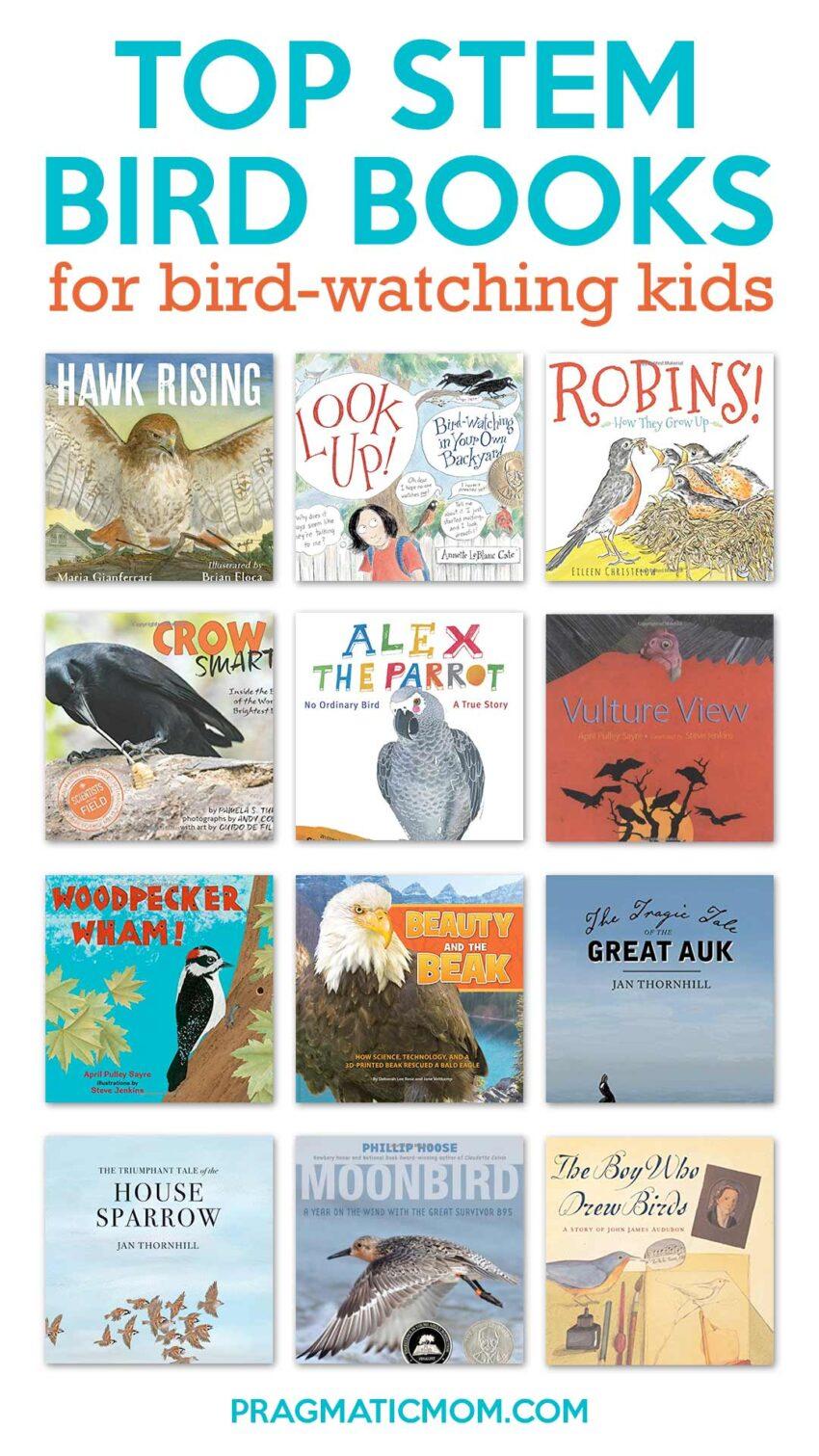 STEM Bird Books for Bird-Watching Kids