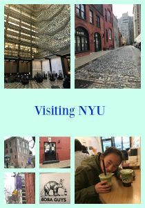 Visiting NYU