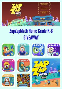 #ZapZapMath Home Grade K-6 #AtHomeWithMath GIVEAWAY