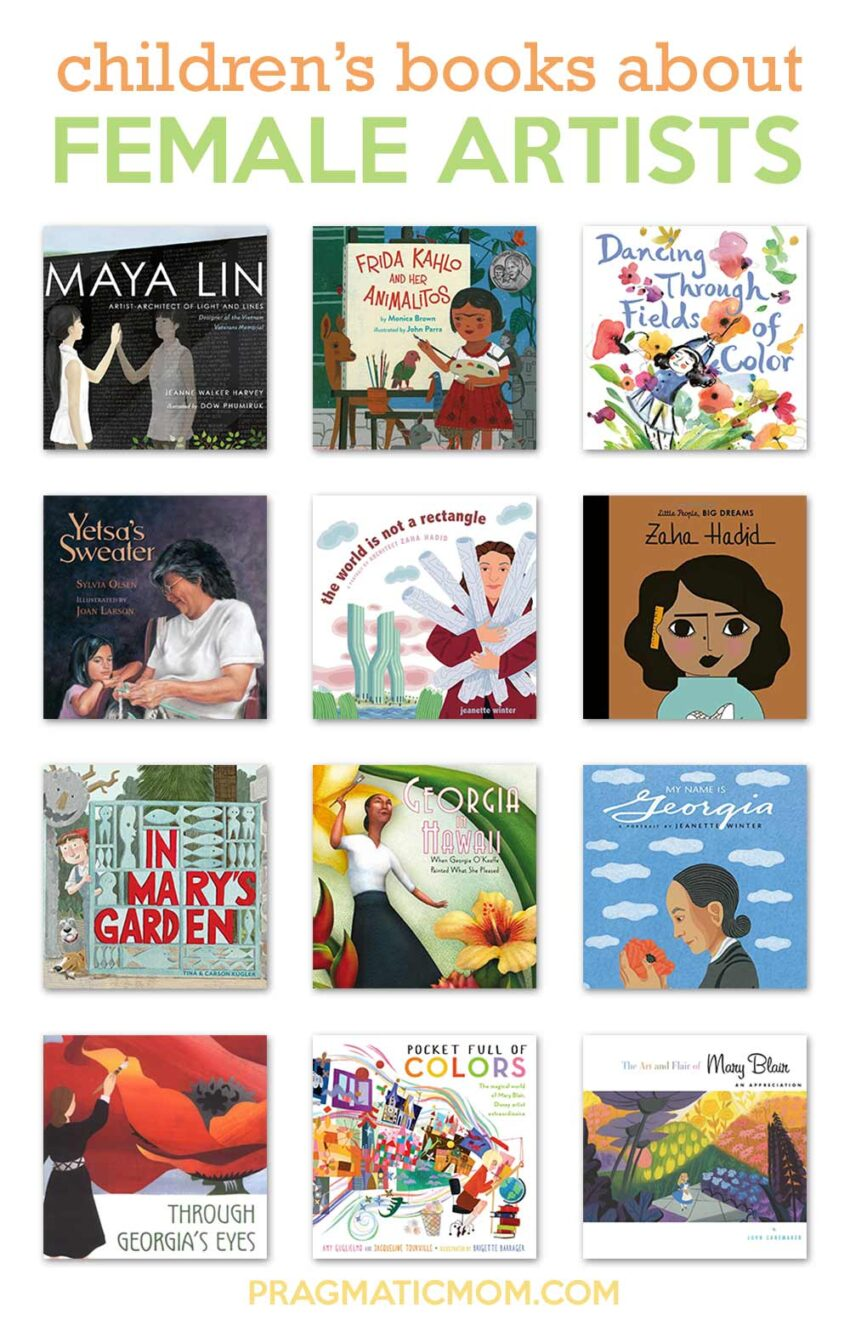 Children's Books about Female Artists