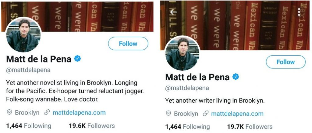 Matt de la Pena accused sexual harassment