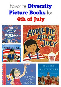 Favorite Diversity Picture Books for 4th of July