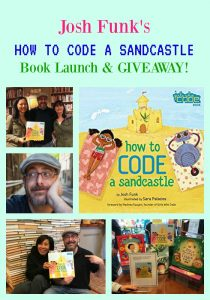 HOW TO CODE A SANDCASTLE book launch & GIVEAWAY!