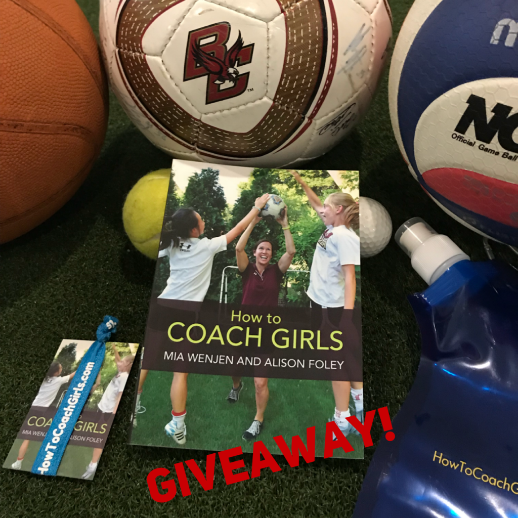 How To Coach Girls book and swag GIVEAWAY