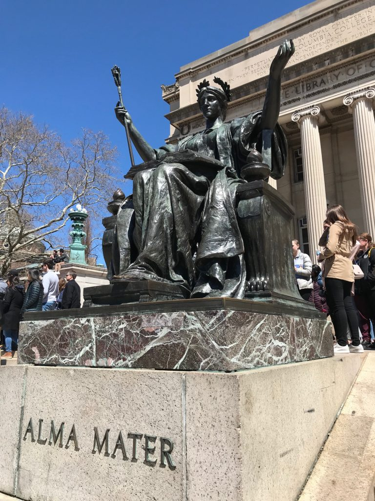 Visiting Columbia University and Tips for Applying to College