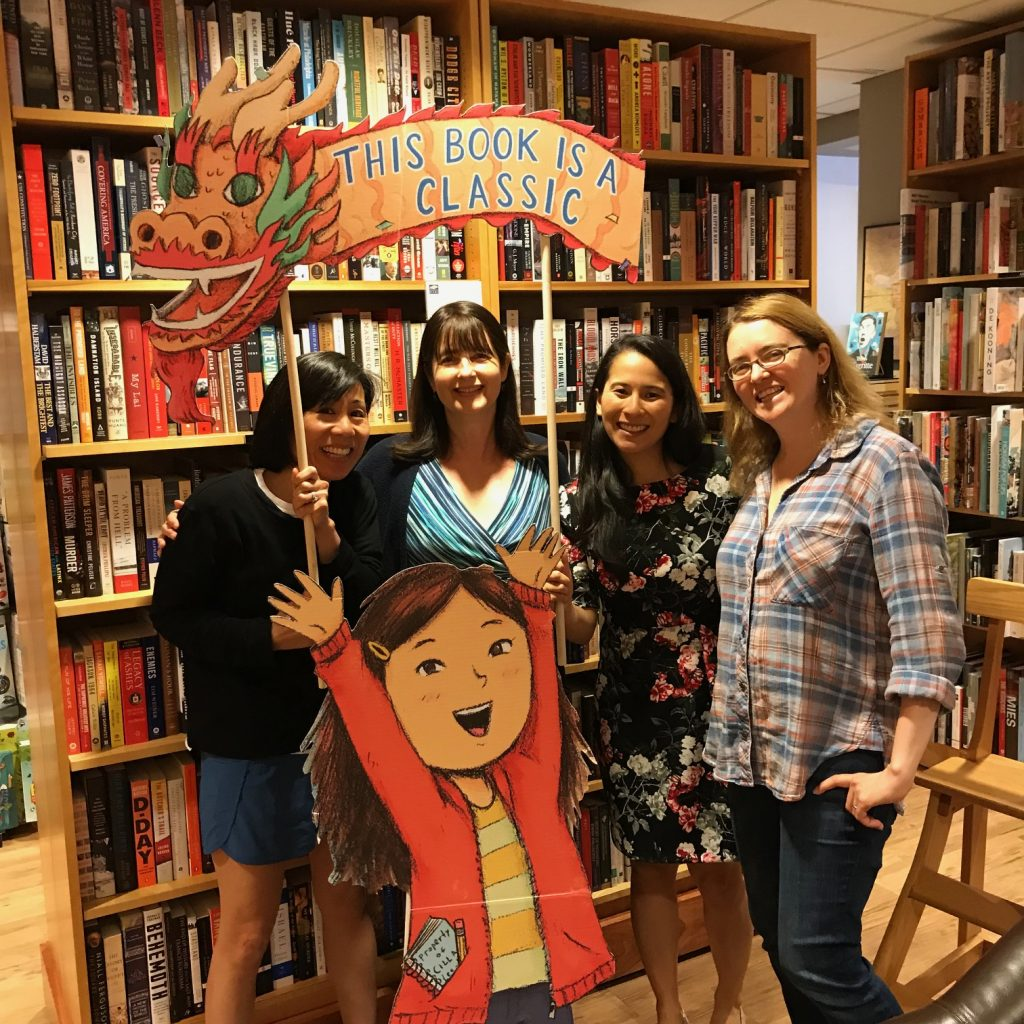 Meeting author Susan Tan of Cilla Lee-Jenkins series