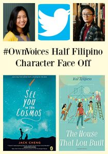 #OwnVoices Half Filipino Character Face Off