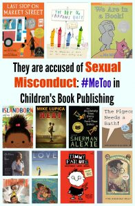 Sexual Misconduct in Children's Book Publishing #MeToo #TimesUp