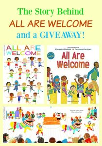 The Story Behind ALL ARE WELCOME and a GIVEAWAY!