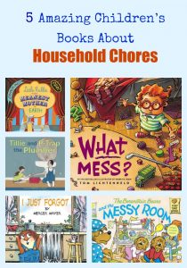 5 Amazing Children's Books About Household Chores