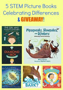 5 STEM Picture Books Celebrating Differences & GIVEAWAY!