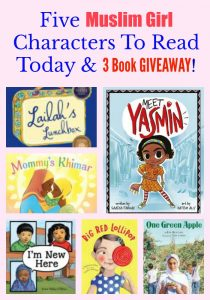 Five Muslim Girl Characters To Read Today & 3 Book GIVEAWAY!