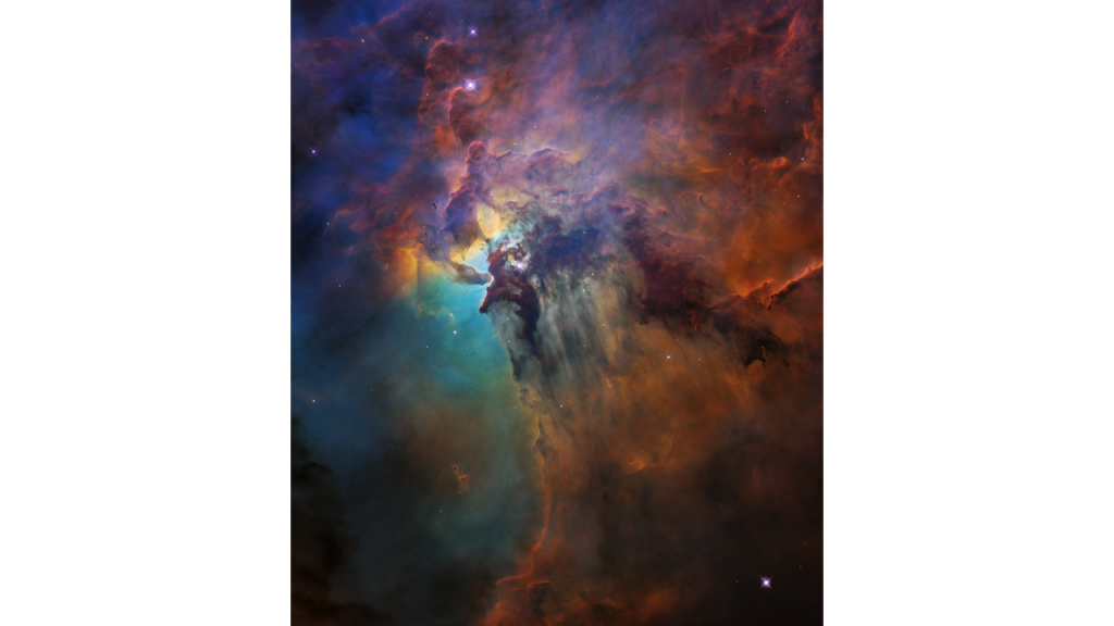 Lagoon Nebula from Hubble