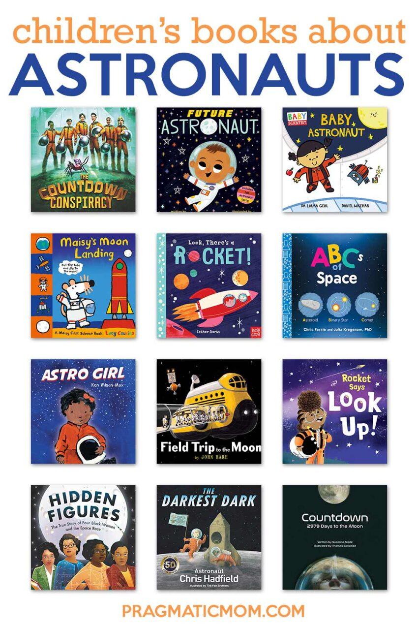 Children's books about astronauts