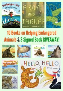 10 Books on Helping Endangered Animals & 3 Book GIVEAWAY!