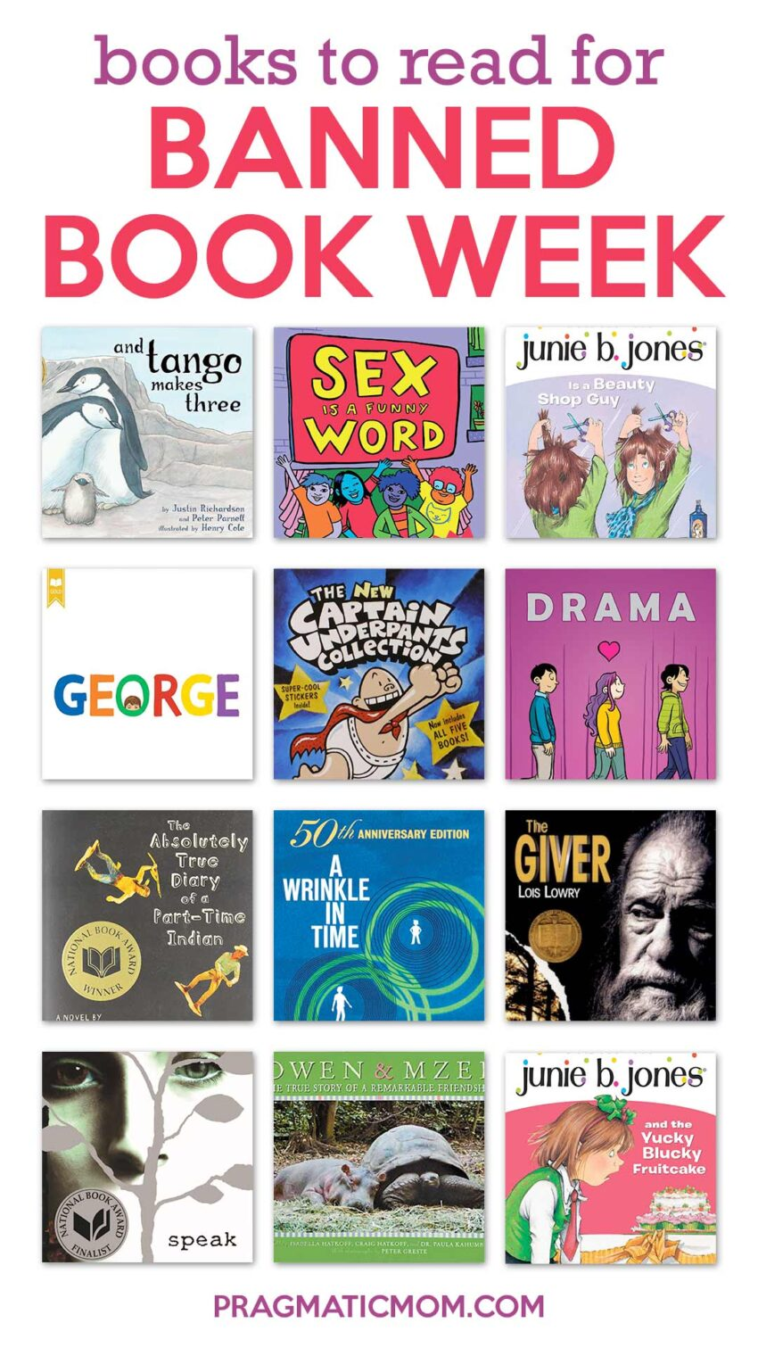 Books to Read for Banned Book Week