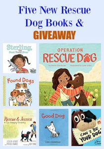 Five New Rescue Dog Books & GIVEAWAY