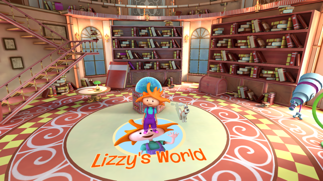 Lizzie's World ebook and augmented reality game