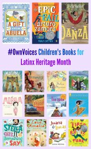#OwnVoices Children's Books for Latinx Heritage Month