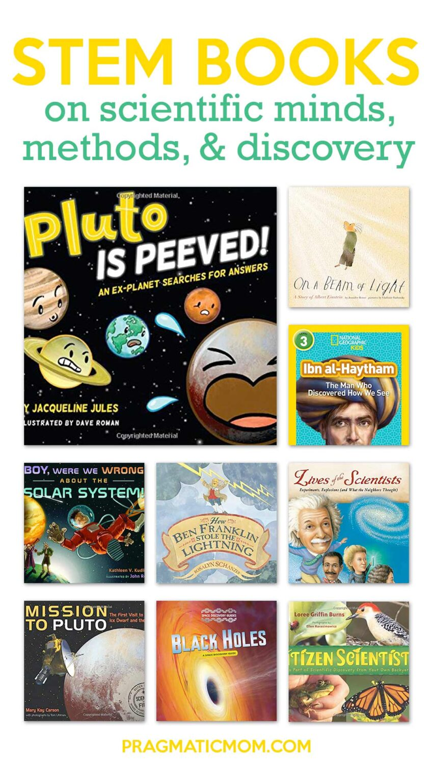 STEM Books on Scientific Minds, Methods, & Discovery