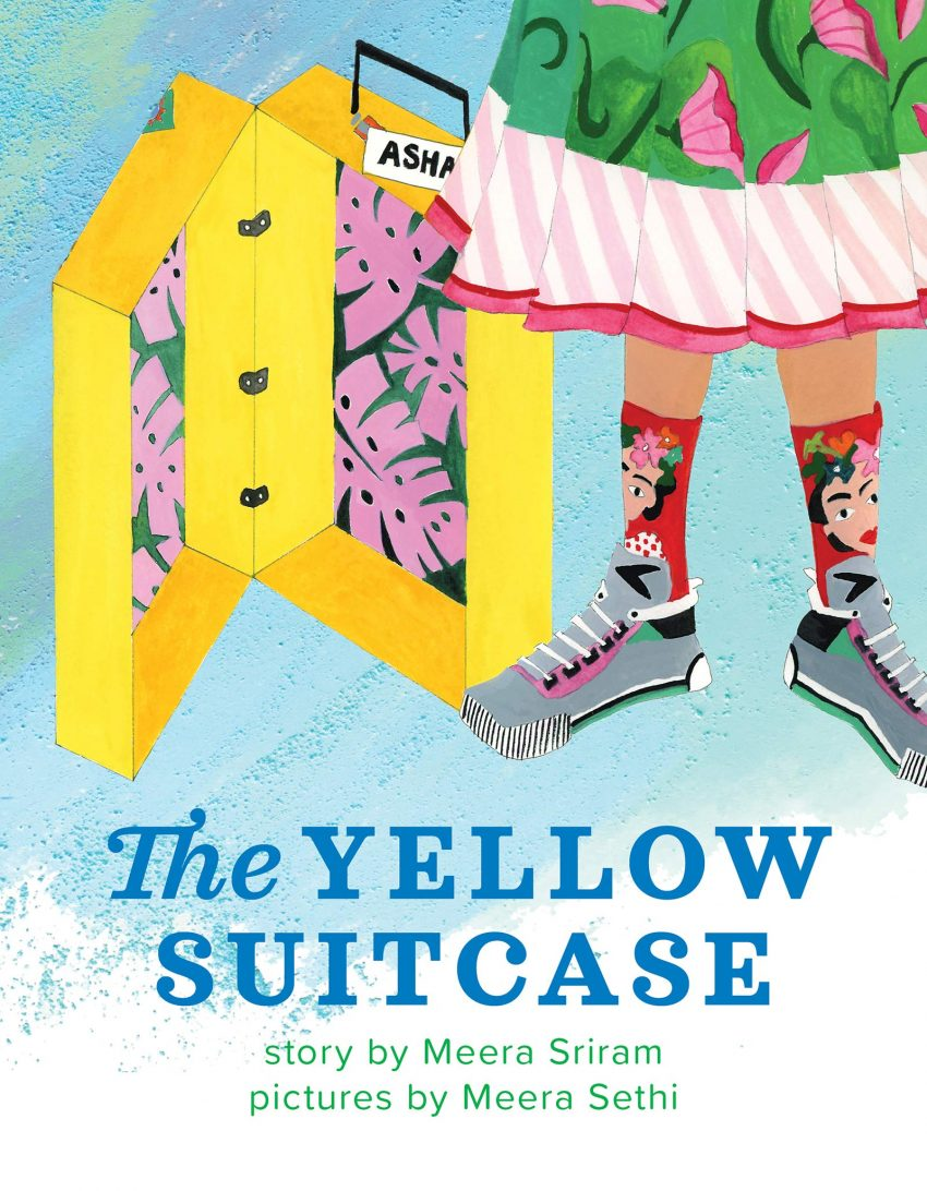 The Yellow Suitcase by Meera Sriram COVER REVEAL!